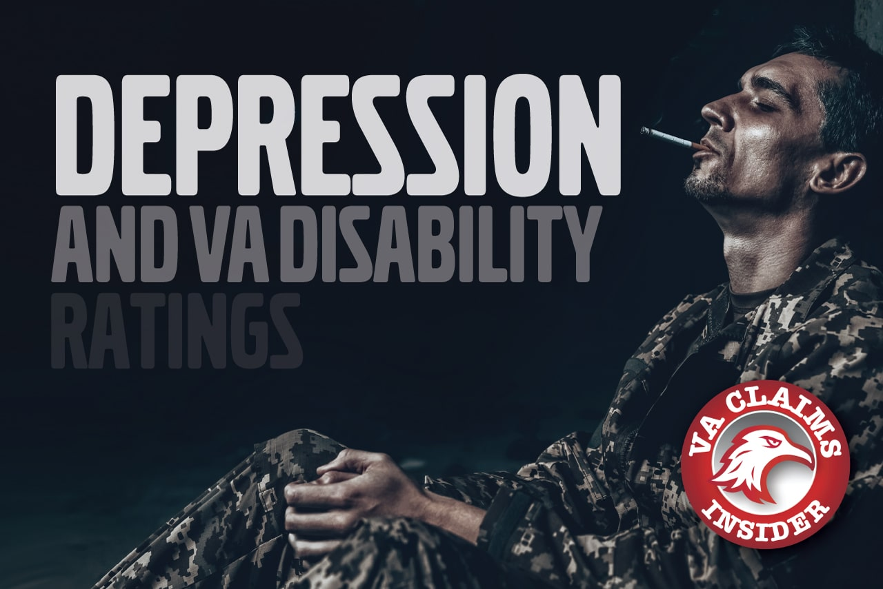 Do You Qualify for a VA Disability Rating for Depression? Blog Depression and VA Disability Ratings min