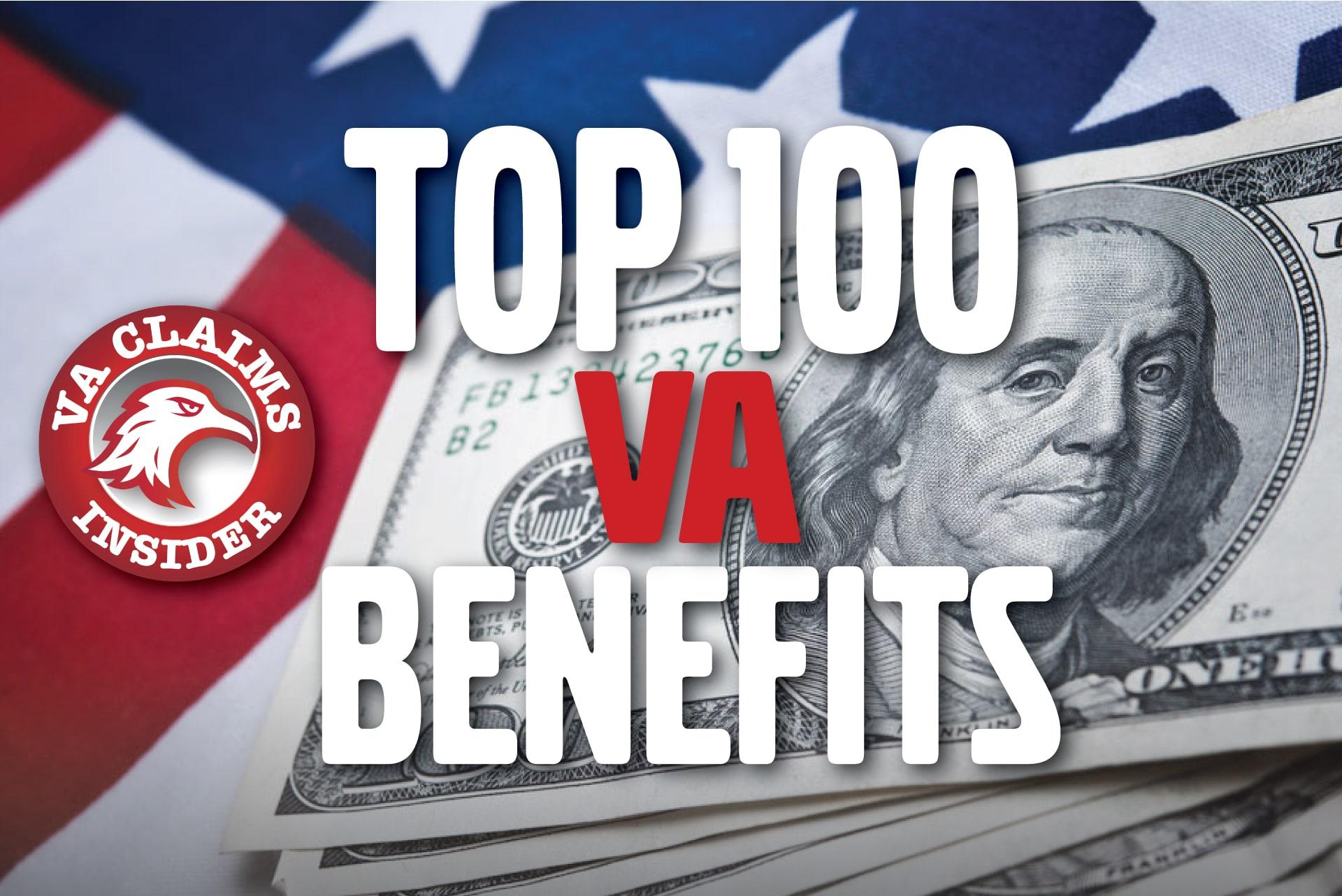 Top 100 Disabled Veteran Benefits Explained Blog Top 100 Disabled Veteran Benefits min
