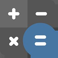 disability calculator icon